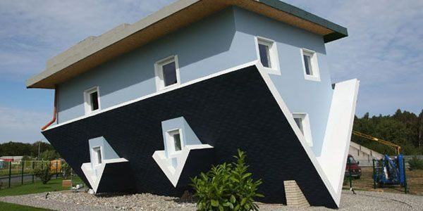 The Upside Down House - Building Inspectors - Houspect