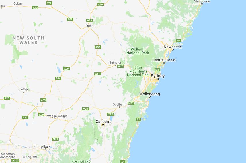 Houspect NSW Office Map