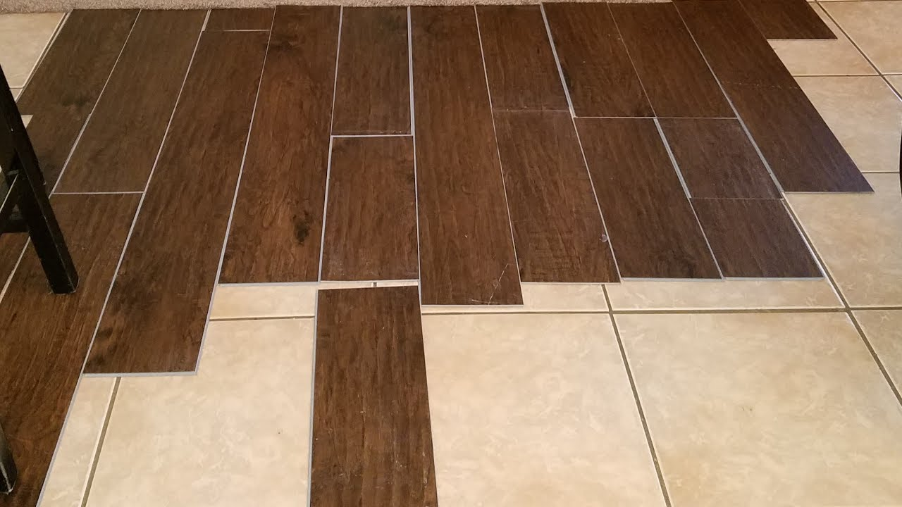 Cover Your Tile Floor With This Fuss Free Flooring