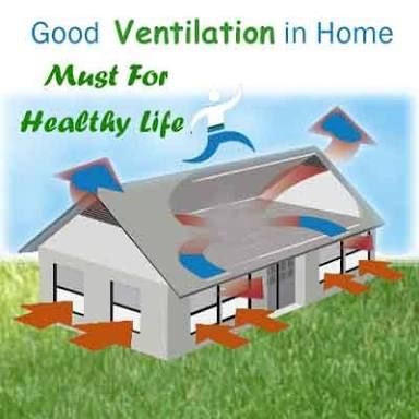 Building Tips To Assist With Ventilation And Air Flow