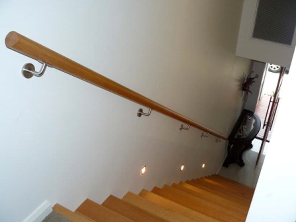 wood handrails for stairs | Stair Hand Rails – When are They Required in WA Homes ...