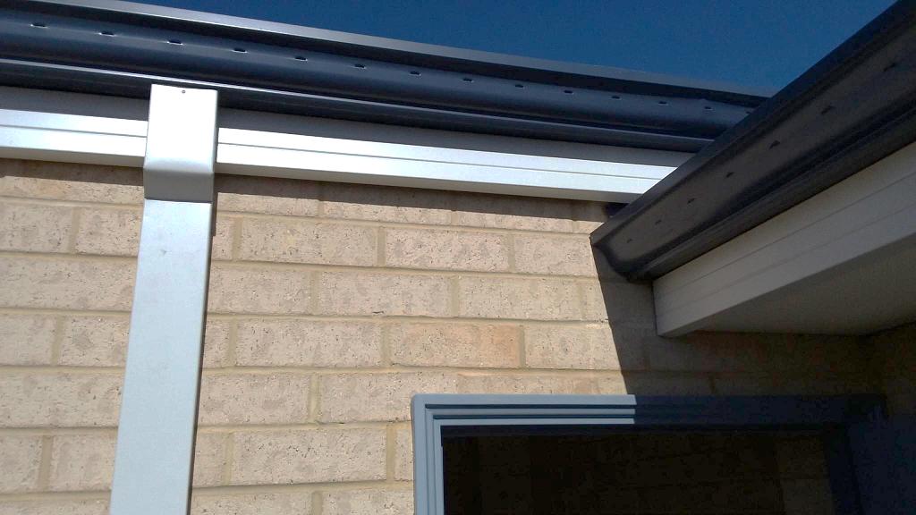 New Home Construction Inspections Gutter Overflow